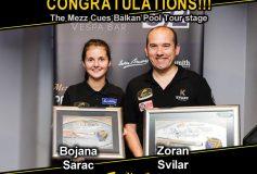 ゾラン・スヴィラルが「Mezz Cues Balkan Pool Tour stage」で優勝!
