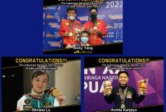 MEZZ プロスタッフが「Indonesia National Sports 2021」2種目で優勝!