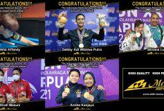 先週末もMEZZ プロスタッフが「Indonesia National Sports 2021」2種目で優勝!